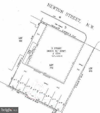 1514 Newton Street NW UNIT P-1, Washington, DC 20010 - #: DCDC516754