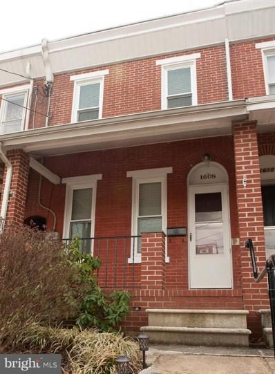 1608 W 10TH Street, Wilmington, DE 19805 - #: DENC475040