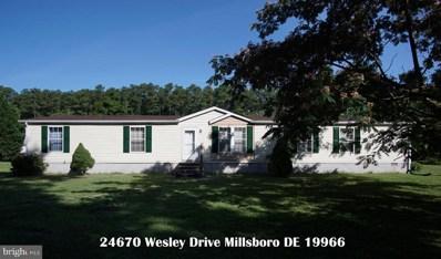 24670 Wesley Drive, Millsboro, DE 19966 - #: DESU143578