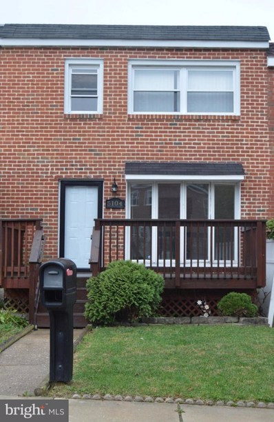 5104 Wasena Avenue, Baltimore, MD 21225 - #: MDAA101372