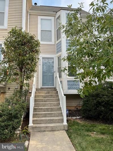 219 Sycamore Ridge Road, Laurel, MD 20724 - #: MDAA2004120