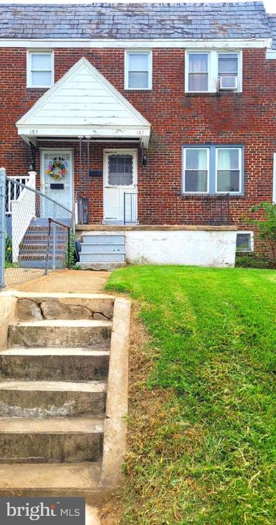 187 W Meadow Road, Baltimore, MD 21225 - #: MDAA2008560