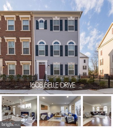1608 Belle Drive, Annapolis, MD 21401 - #: MDAA367714