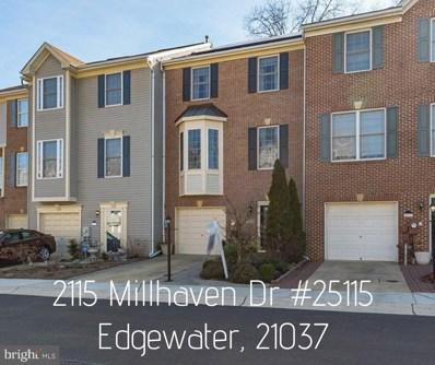 2115 Millhaven Drive UNIT 25115, Edgewater, MD 21037 - #: MDAA373640