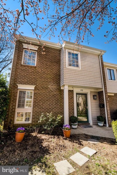 40 Gentry Court, Annapolis, MD 21403 - #: MDAA377372
