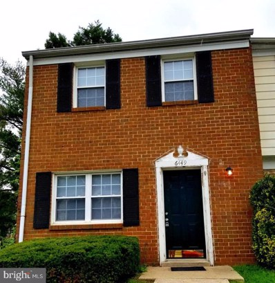 6449 Lamplighter Ridge, Glen Burnie, MD 21061 - #: MDAA377558