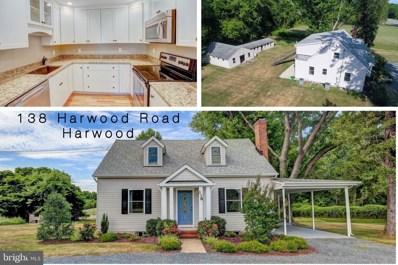 138 Harwood Road, Harwood, MD 20776 - #: MDAA394148