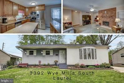 3392 Wye Mills S, Laurel, MD 20724 - #: MDAA397592