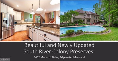 3462 Monarch Drive, Edgewater, MD 21037 - #: MDAA399436