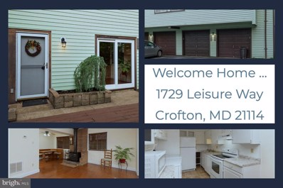 1729 Leisure Way, Crofton, MD 21114 - #: MDAA401880