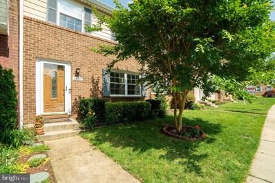1657 Forest Hill Court, Crofton, MD 21114 - #: MDAA411492