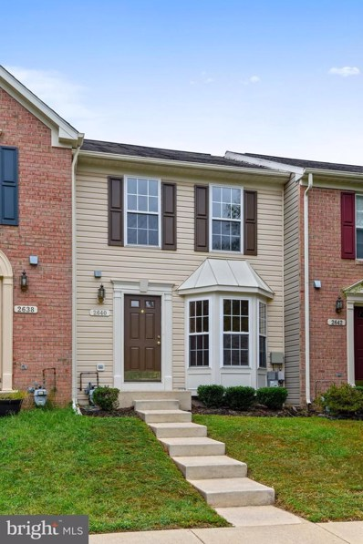 2640 Rainy Spring Court, Odenton, MD 21113 - #: MDAA413608
