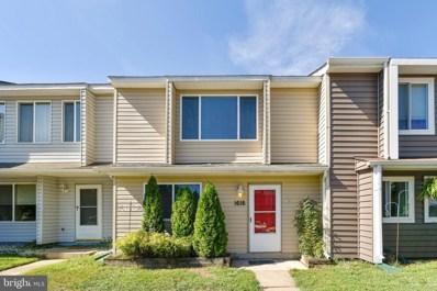 1616 Woodtree Court W, Annapolis, MD 21409 - #: MDAA413968