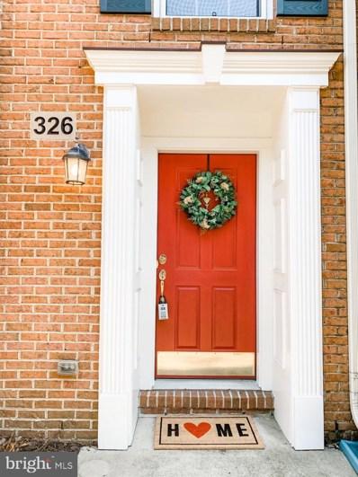 326 Bulwark Alley, Annapolis, MD 21401 - #: MDAA421552