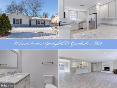1073 Springhill Court, Gambrills, MD 21054 - #: MDAA421724