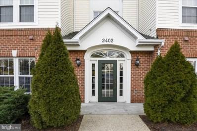 2402 Chestnut Terrace Court UNIT 101, Odenton, MD 21113 - #: MDAA421776