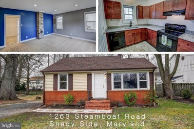 1263 Steamboat Road, Shady Side, MD 20764 - #: MDAA426144