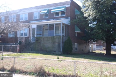 243 W Edgevale Road, Baltimore, MD 21225 - #: MDAA428564