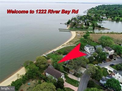 1222 River Bay Road, Annapolis, MD 21409 - #: MDAA428930