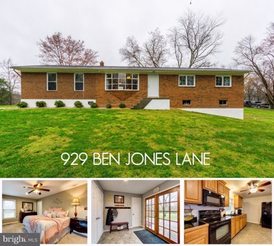 929 Ben Jones Lane, Lothian, MD 20711 - #: MDAA429516
