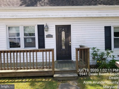 5941 Deale Beach Road, Deale, MD 20751 - MLS#: MDAA431630