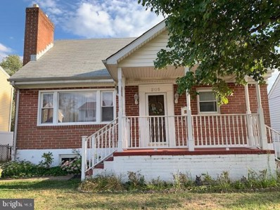 205 Camrose Avenue, Baltimore, MD 21225 - #: MDAA432310