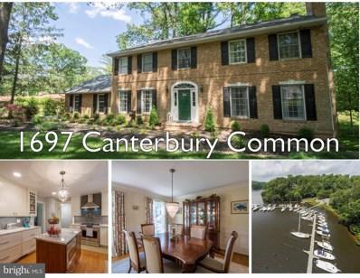 1697 Canterbury Comn, Annapolis, MD 21401 - #: MDAA437230