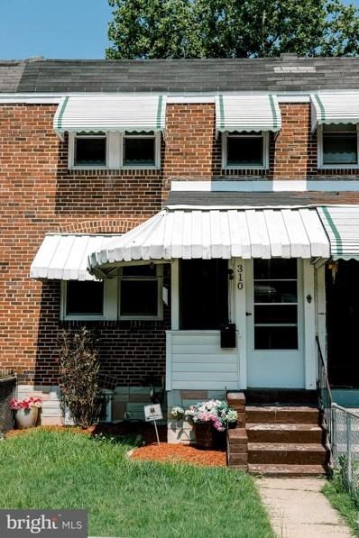 310 Old Riverside Road, Baltimore, MD 21225 - #: MDAA439910