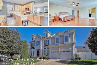 2420 Arapaho Way, Gambrills, MD 21054 - #: MDAA447072