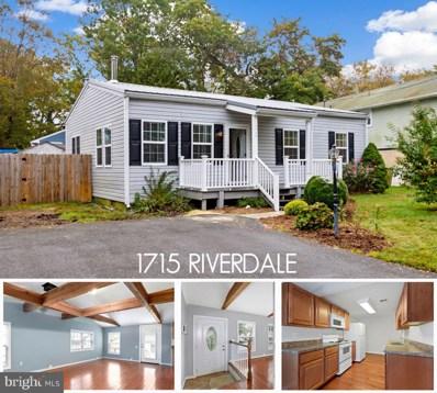 1715 Riverdale Drive, Edgewater, MD 21037 - #: MDAA450194