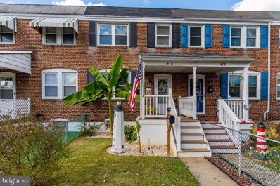 418 Old Riverside Road, Baltimore, MD 21225 - #: MDAA450808