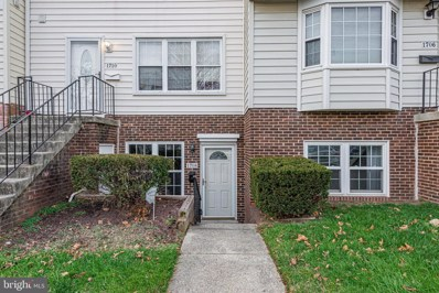 1708 Copley Court, Crofton, MD 21114 - #: MDAA453058