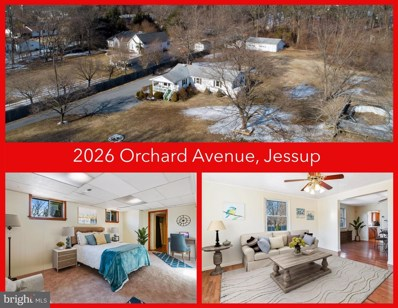 2026 Orchard Avenue, Jessup, MD 20794 - #: MDAA459746