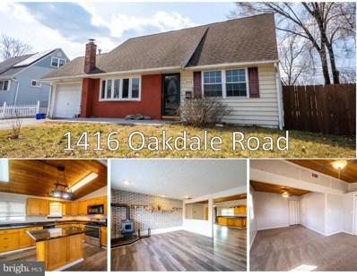 1416 Oakdale Road, Glen Burnie, MD 21060 - #: MDAA460904