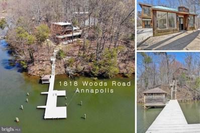 1818 Woods Road, Annapolis, MD 21401 - #: MDAA463836