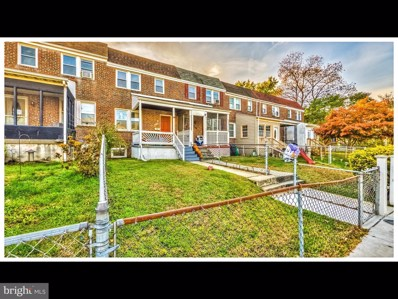 233 W Meadow Road, Baltimore, MD 21225 - #: MDAA463964