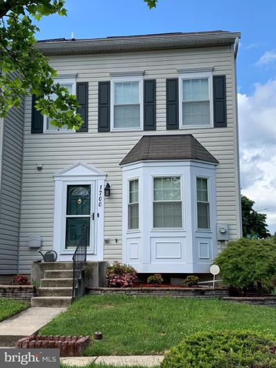 1700 Carriage Lamp Court, Severn, MD 21144 - #: MDAA468520