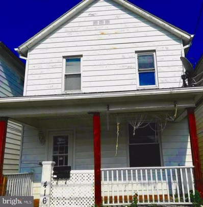 416 Seymour Street, Cumberland, MD 21502 - #: MDAL131822