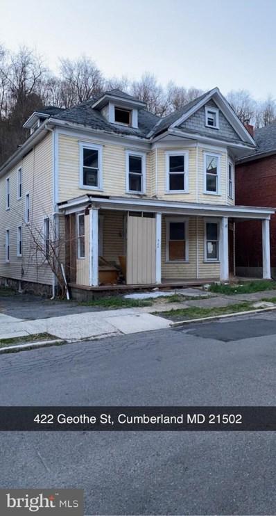 422 Goethe Street, Cumberland, MD 21502 - #: MDAL136584