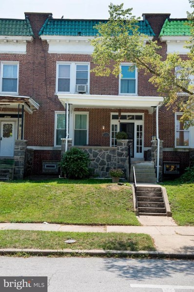 1609 E 33RD Street, Baltimore, MD 21218 - #: MDBA100027