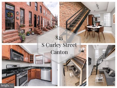 825 S Curley Street, Baltimore, MD 21224 - #: MDBA100264