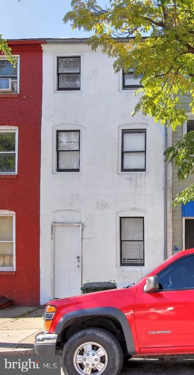 62 S Carrollton Avenue, Baltimore, MD 21223 - #: MDBA100308