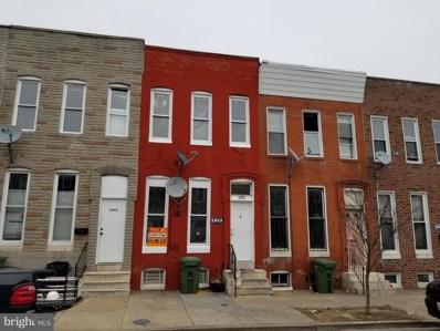 1913 Division Street, Baltimore, MD 21217 - #: MDBA100391
