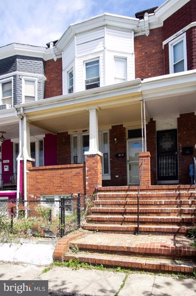 408 E 28TH Street, Baltimore, MD 21218 - #: MDBA100412