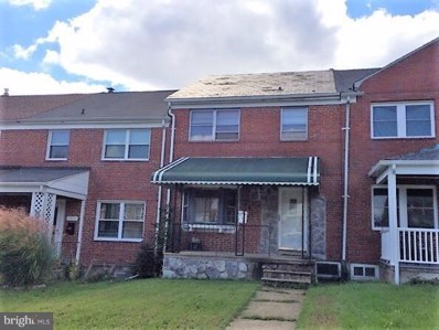 1911 Woodbourne Avenue, Baltimore, MD 21239 - MLS#: MDBA100426