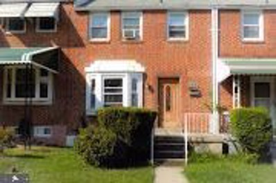 1908 E Belvedere Avenue, Baltimore, MD 21239 - #: MDBA100471