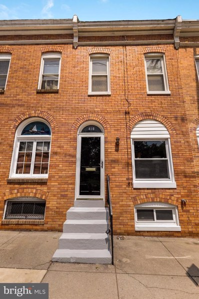 418 E Cross Street, Baltimore, MD 21230 - #: MDBA100515