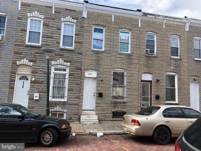 412 N Belnord Avenue, Baltimore, MD 21224 - MLS#: MDBA100700