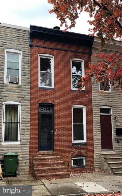 804 Woodward Street, Baltimore, MD 21230 - #: MDBA100738