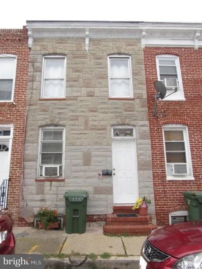 1107 Sterrett Street, Baltimore, MD 21230 - #: MDBA100790